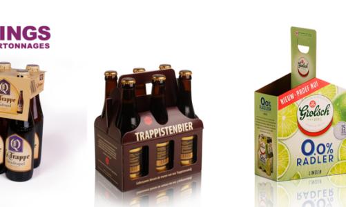 Als brouwerij je bieren goed verpakken? Ga voor kartonnen verpakkingen